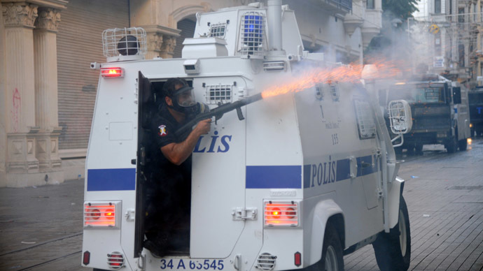 'Direct fire': HRW urges Turkey to end 'incorrect, unlawful' teargas use, cites victims (GRAPHIC PHOTOS)