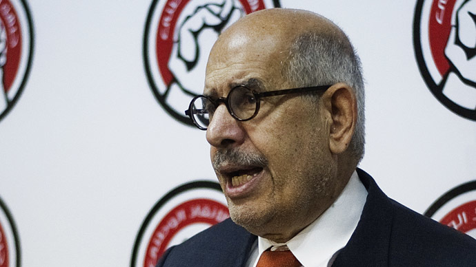 Egypt's interim president retreats from naming ElBaradei Prime Minister
