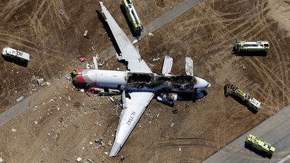 Asiana flight passenger killed by emergency truck, not air crash