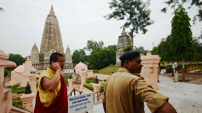 Multiple blasts rock one of holiest Buddhist sites in India