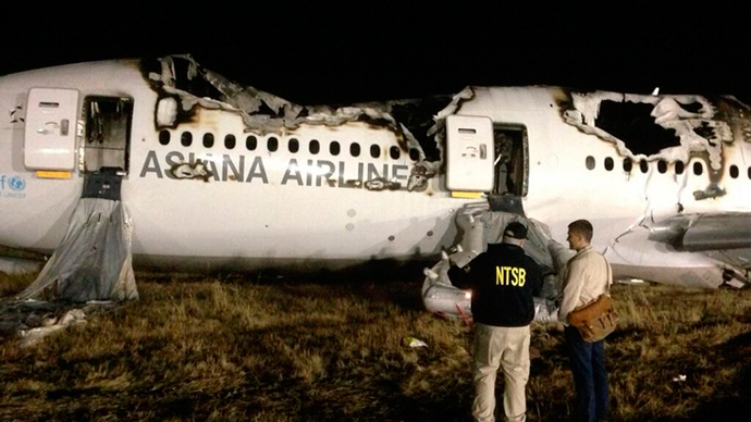 Crash and burn: Asiana Airlines stock plummets 6.2% after Boeing 777 accident