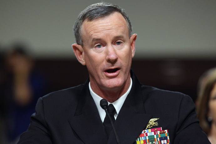 Admiral William McRaven (Chip Somodevilla / Getty Images / AFP)