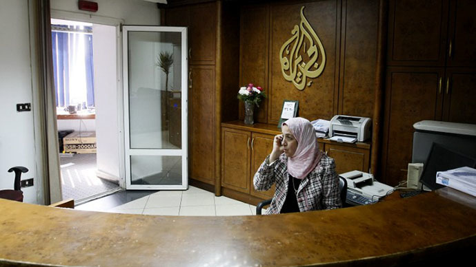 Al-Jazeera journalists kicked out of Egyptian military press-conference