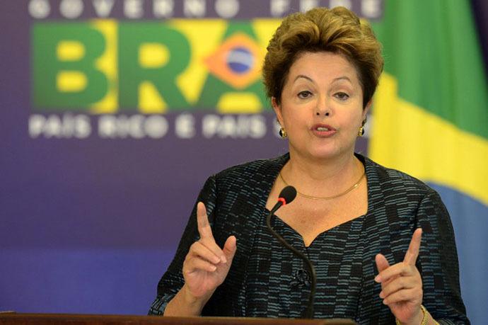 Brazilian President Dilma Rousseff (AFP Photo / Evaristo Sa)