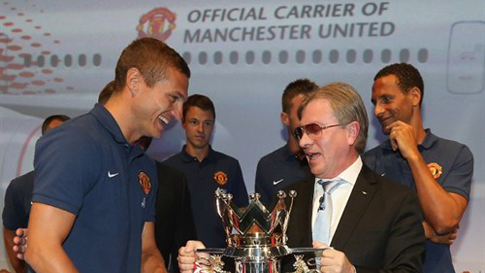 Change in the air: Aeroflot signs on as Man United's first Russian sponsor