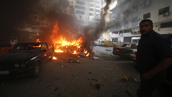 Car bomb rocks Hezbollah stronghold in Beirut