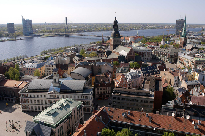 View of Riga (AFP Photo / Ilmars Znotins)
