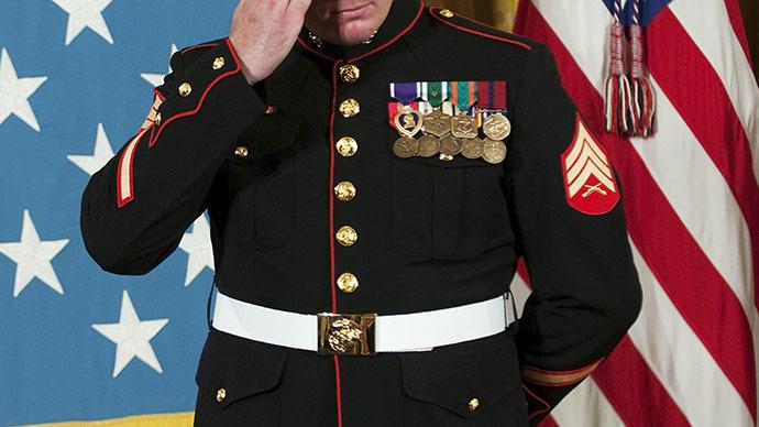 Wounded Marine says the TSA treats him like a terrorist