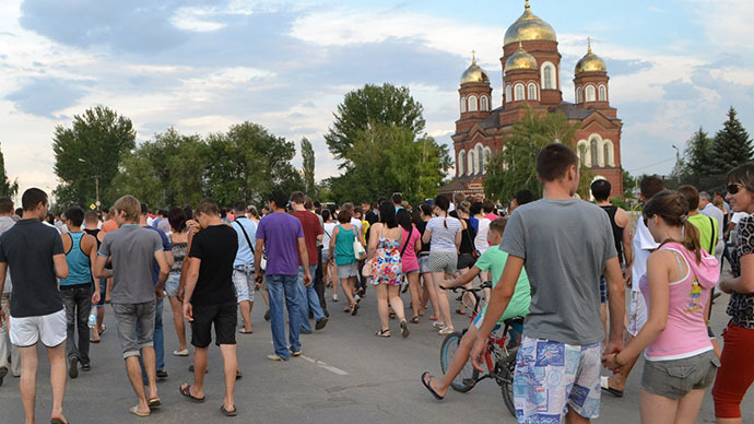 Murder sparks nationalist rallies in Russian town