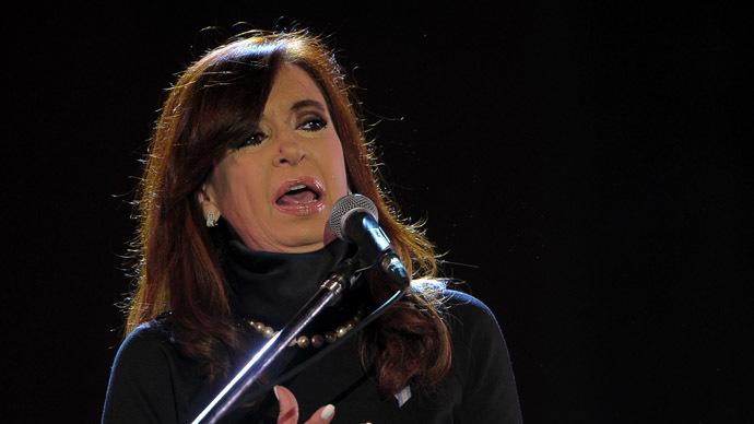 Argentine President Cristina Fernandez de Kirchner (AFP Photo/Alejandro Pagni)