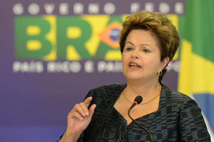 Brazilian President Dilma Rousseff (AFP Photo/Evaristo Sa)