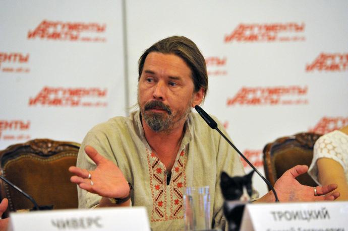 """Moscow mayoral candidate Sergei """"Spider"""" Troitsky (RIA Novosti/Sergey Kuznecov)"""