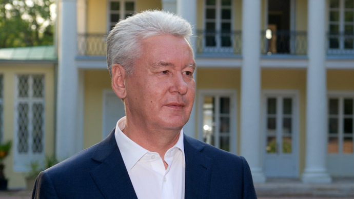 The Acting Mayor of Moscow Sergei Sobyanin (RIA Novosti/Denis Grishkin)