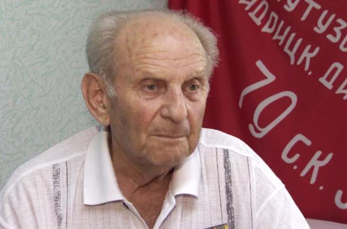 Prokhorovka Battle veteran Abram Ekhilevsky
