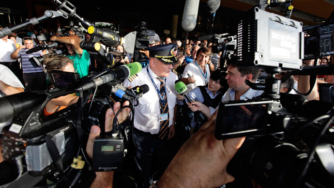 US 'blocks my asylum': Snowden invites human rights activists to airport meeting