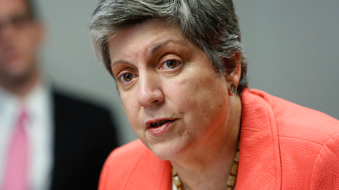 US Homeland Security Secretary Janet Napolitano resigns
