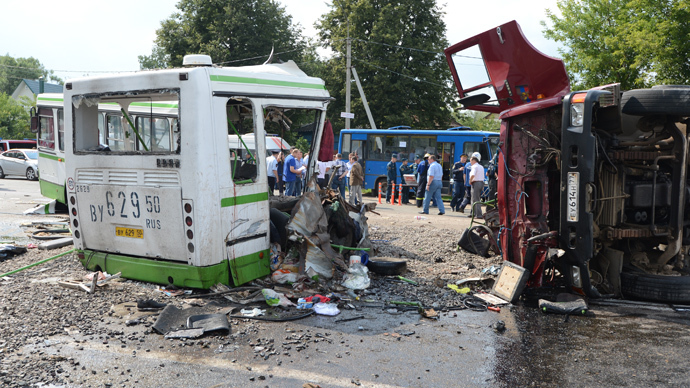 6 killed as train hits bus in Ottawa, Canada