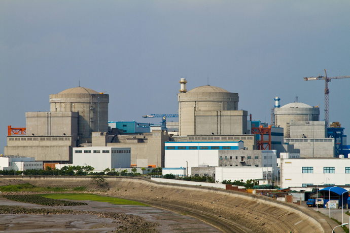 Qinshan nuclear power plant in Haiyan, in eastern China's Zhejiang province (China out / AFP Photo)
