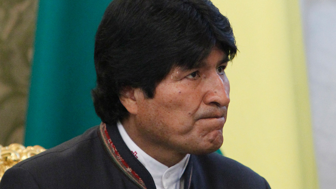 Bolivian leaders' emails hacked by US - Morales