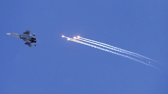 Su-27 fighter (RIA Novosti / Andrei Aleksandrov)