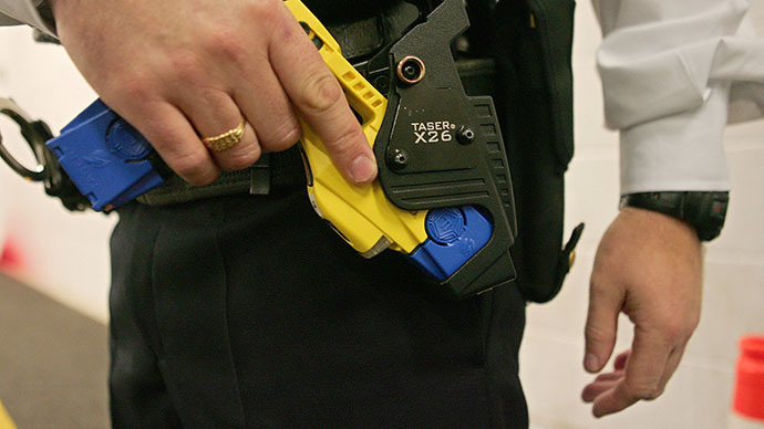 Most Taser shots in UK aimed at chest despite 'risk of potential serious injury or death'