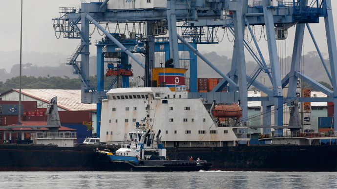Panama detains N. Korean ship with smuggled weapons on board