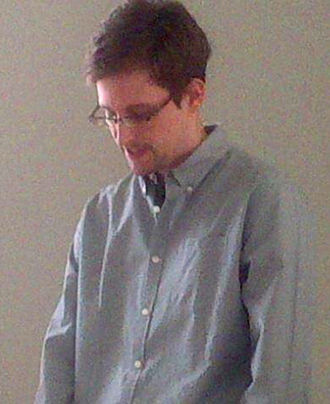 Edward Snowden (Tanya Lokshina / Human Rights Watc)