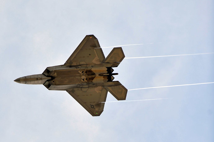 A US-made F-22 Raptor (Jason Smith/Getty Images/AFP)