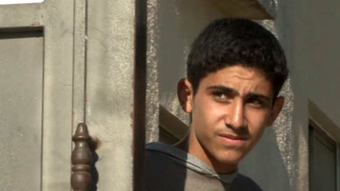 Asaf Hikmat, one of the Palestinian teens who found themselves on IDF wanted posters.