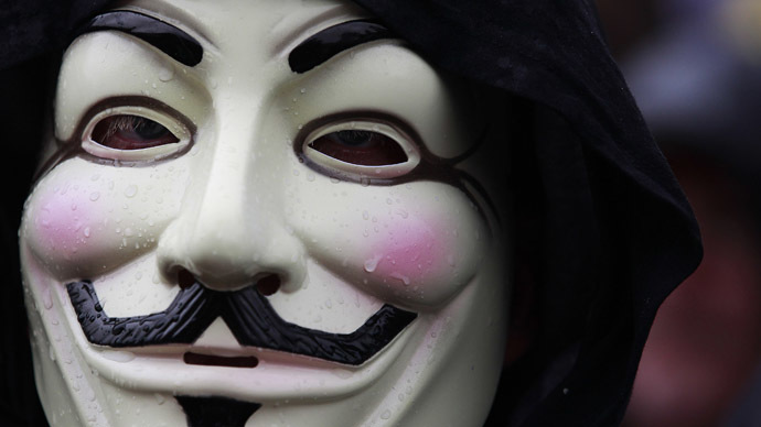 #Nov5th 2013: Anonymous pledges to hack govt websites globally on Guy Fawkes Day