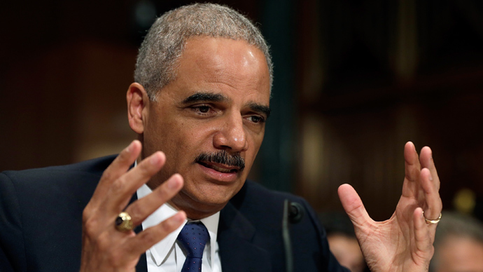 U.S. Attorney General Eric Holder (AFP Photo / Win McNamee)