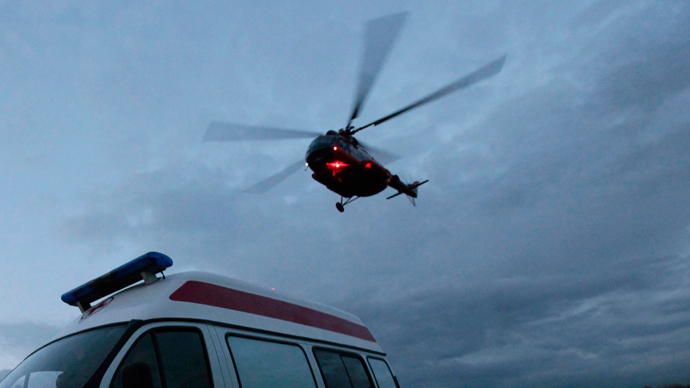 Patients become too heavy for medical emergency helicopters