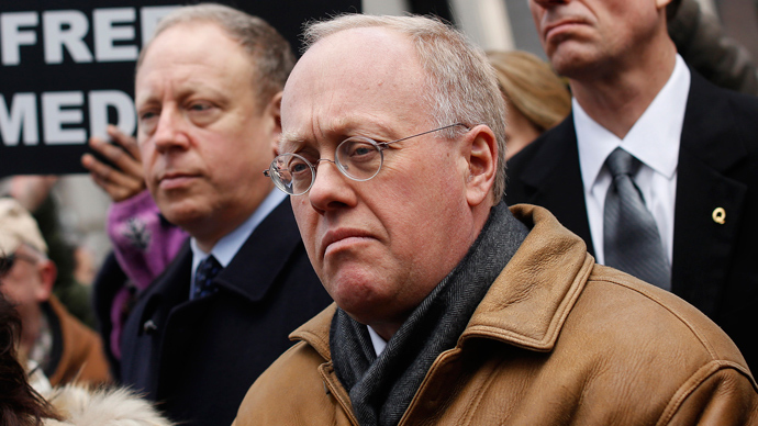 Chris Hedges, former New York Times reporter and current Truthdig columnist (Reuters / Shannon Stapleton)