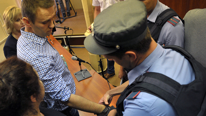 Court puts Navalny under house arrest