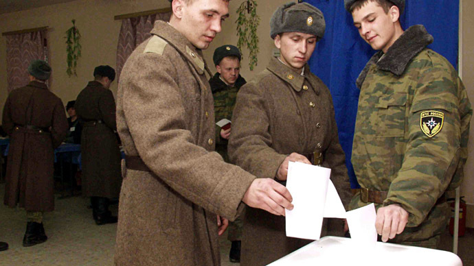 Billionaire politician wants military stripped of voting rights