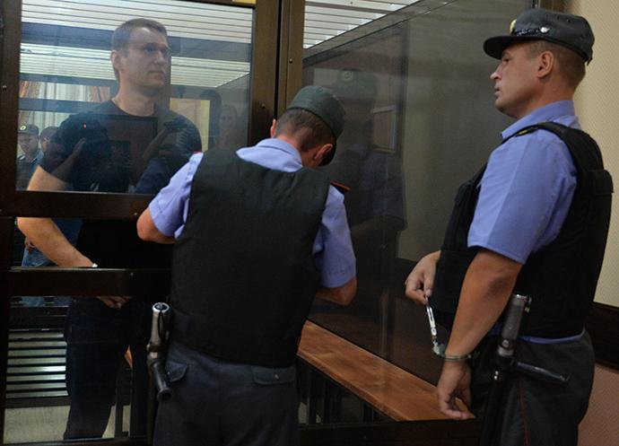 Russian opposition leader Aleksey Navalny (RIA Novosti / Ilya Pitalev)