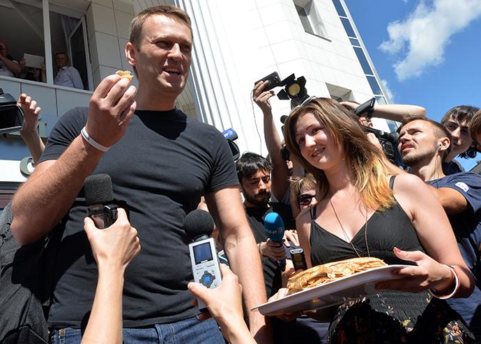 Alexei Navalny (RIA Novosti / Ilya Pitalev)