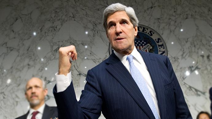 US Secretary of State John Kerry (AFP Photo / Karen Bleier)