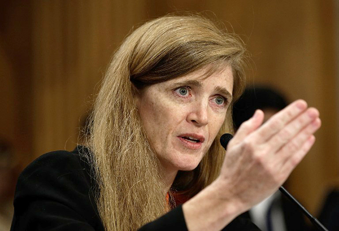 Samantha Power (AFP Photo / Win Mcnamee)