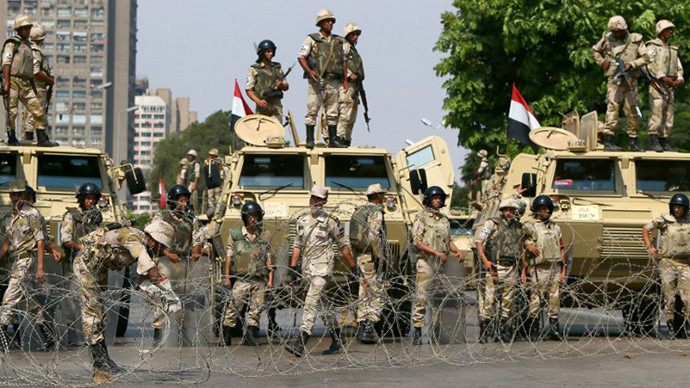 Gun shy? Britain blocks military hardware exports to Egypt