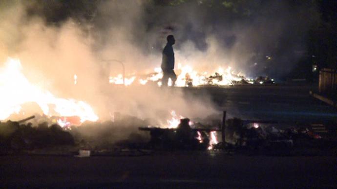 Still from AFP video