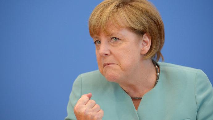 German Chancellor Angela Merkel.(AFP Photo / Johannes Eisele)