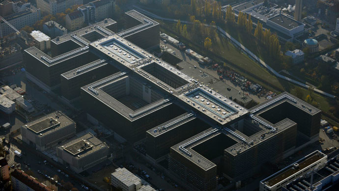 An aerial view of the construction site of the new Federal Intelligence Service (BND) headquarters in Chausseestrasse in the district of Mitte in Berlin.(Reuters / Robert Grahn)