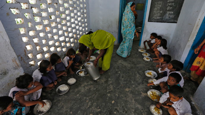 Shocking Indian school poisoning: Principal 'forced kids to eat' odd-looking food