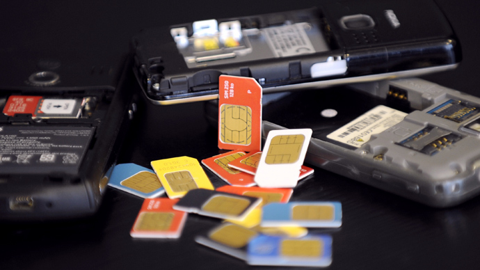 Little way of knowing if your SIM card is in danger. (AFP Photo)