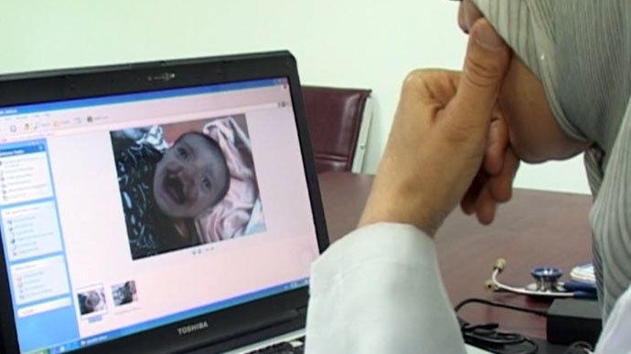 Screenshot from RT video