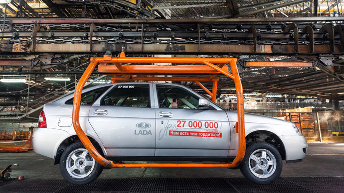 Russian automakers cut jobs by 30% over 5 years, but boosted output