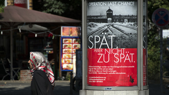 Nazi-hunting campaign kicks off in Germany