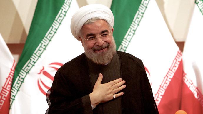 Iranian president Hassan Rowhani (AFP Photo/Behrouz Mehri)