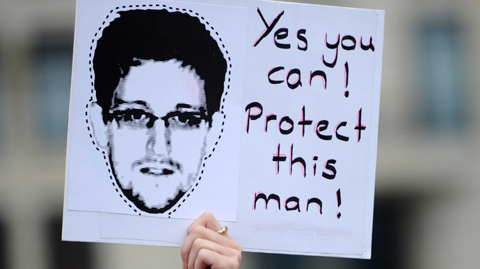 Snowden asylum still under review, stays in airport for now